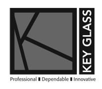 key glass logo